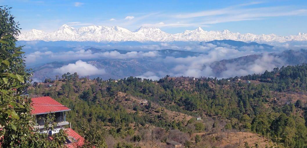 Quiet Place Himalayas - view